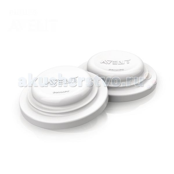 Аксессуары для бутылочек и поильников Philips-Avent Крышка силиконовая для бутылочек 6 шт.