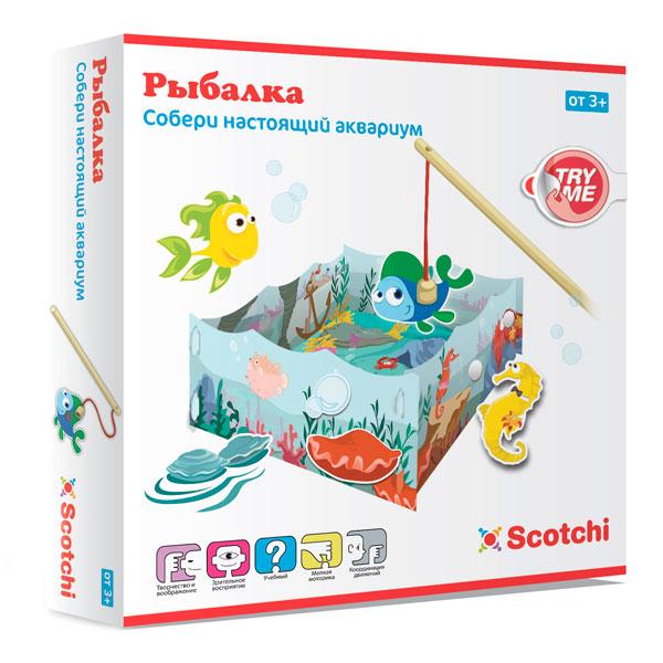 Scotchi scotchi развивающая игра рыбалка 20030