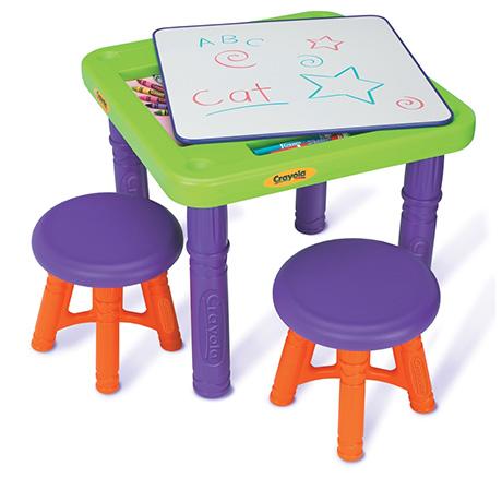 Игровые столики Crayola Стол с табуреточками 5006-01