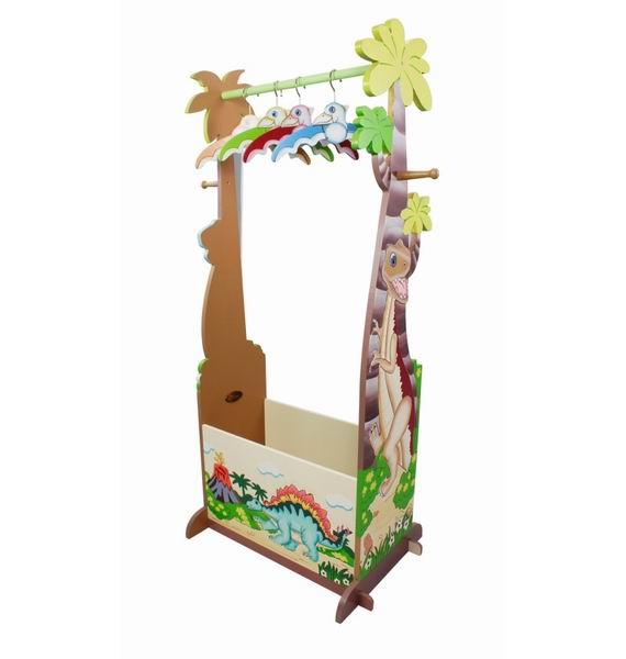 Аксессуары для детской комнаты Teamson Вешалка напольная Dinosaur