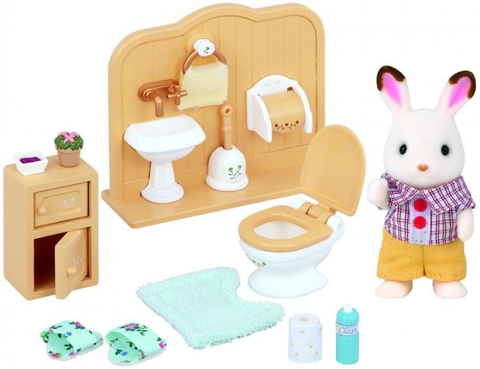 Sylvanian Families Игровой набор Братик и туалетная комната