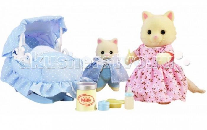 Sylvanian Families Игровой набор Мама с малышом и колыбелькой