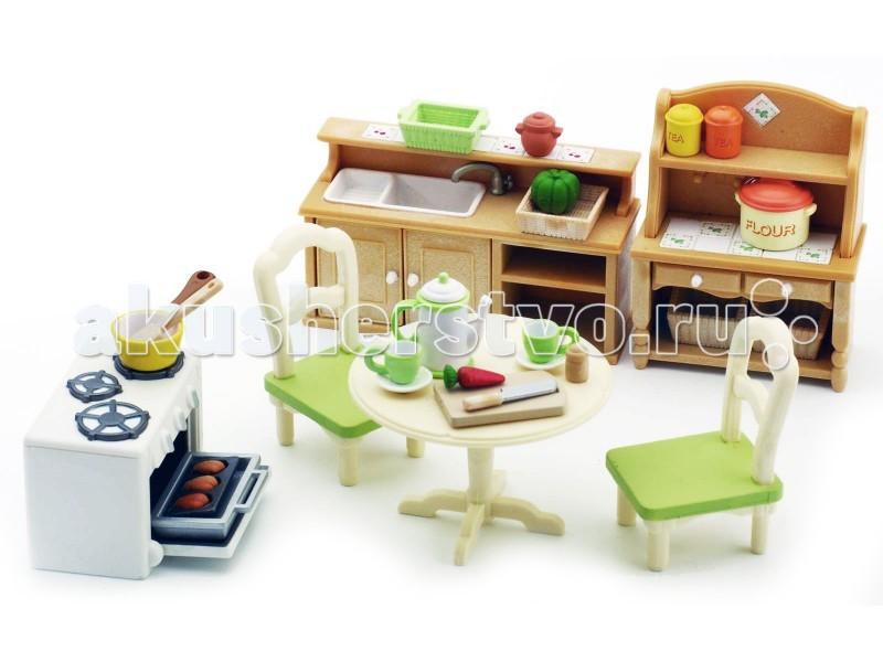 Sylvanian Families Кухня в коттедже