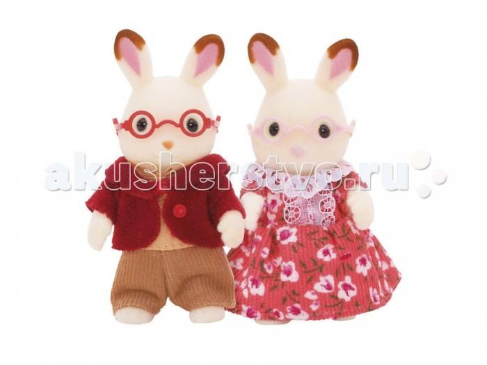 Sylvanian Families Игровой набор Бабушка и дедушка Шоколадные Кролики