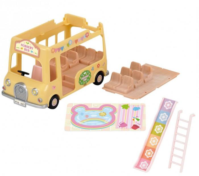 Sylvanian Families Игровой набор Двухэтажный автобус для малышей