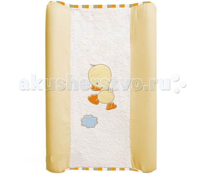 Micuna Чехол на пеленальный матрасик DidoЧехол на пеленальный матрасик DidoЧехол на пеленальный комод Dido  Пеленальный матрасик, на котором малыш ежедневно проводит очень много времени, - весьма важный аксессуар. Пока мама нежно смазывает кожу маслом, меняя подгузник, пока массирует малышу спинку или каждое утро делает с ребёнком гимнастику для новорождённых: в эти моменты маленькому человечку должно быть уютно и приятно, а маме – удобно.  Основные характеристики:  - мягкая махровая поверхность;  - крепится на резинке;  - легко снимать и надевать;  - хорошо впитывает влагу;  - легко стирается, быстро сохнет.   Размер: 80х49 см.  Вес с упаковкой (брутто): 0,3 кг Объем: 0,001 м3  НАКЛАДКА НА ПЕЛЕНАНИЯ В СТОИМОСТЬ НЕ ВХОДИТ<br>