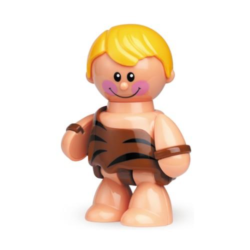 Развивающая игрушка Tolo Toys Пещерный мальчикПещерный мальчикПри сгибании конечностей, а также при поворотах головы игрушки раздается легкий треск. Возможны различные положения, благодаря шарнирному телу.  Игрушка способствует развитию моторики, помогает научится различать цвета и воспринимать звуки.   Фигурка безопасна во время прорезывания зубов.  Игрушки Tolo отличаются высоким качеством изготовления и повышенной прочностью.<br>