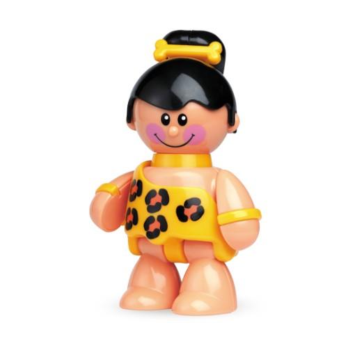 Развивающая игрушка Tolo Toys Пещерная девочкаПещерная девочкаПри сгибании конечностей, а также при поворотах головы игрушки раздается легкий треск. Возможны различные положения, благодаря шарнирному телу.  Игрушка способствует развитию моторики, помогает научится различать цвета и воспринимать звуки.   Фигурка безопасна во время прорезывания зубов.  Игрушки Tolo отличаются высоким качеством изготовления и повышенной прочностью.<br>