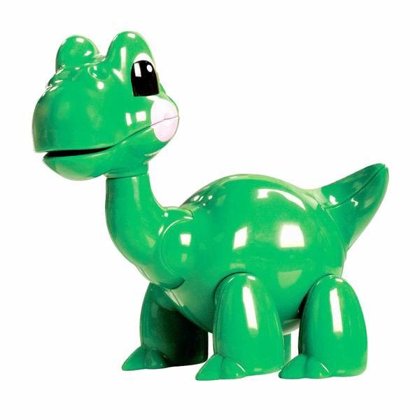 Развивающая игрушка Tolo Toys БронтозаврБронтозаврПри сгибании конечностей, а также при поворотах головы игрушки раздается легкий треск. Возможны различные положения, благодаря шарнирному телу.  Игрушка способствует развитию моторики, помогает научится различать цвета и воспринимать звуки.   Фигурка безопасна во время прорезывания зубов.  Игрушки Tolo отличаются высоким качеством изготовления и повышенной прочностью.<br>