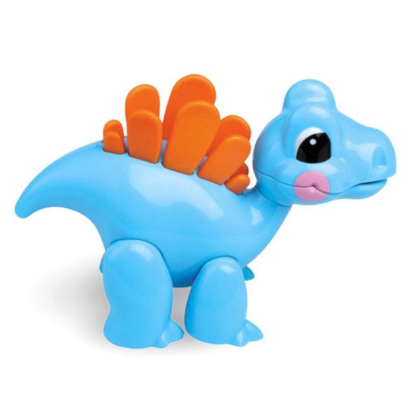 Развивающая игрушка Tolo Toys СтегозаврСтегозаврПри сгибании конечностей, а также при поворотах головы игрушки раздается легкий треск. Возможны различные положения, благодаря шарнирному телу.  Игрушка способствует развитию моторики, помогает научится различать цвета и воспринимать звуки.   Фигурка безопасна во время прорезывания зубов.  Игрушки Tolo отличаются высоким качеством изготовления и повышенной прочностью.<br>
