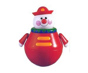 Развивающая игрушка Tolo Toys Неваляшка КлоунНеваляшка КлоунЗабавный клоун-неваляшка — игрушка, кторую ваш малыш может наклонять и качать в разные стороны, а она неизменно принимает прямое положение.   Во время движения, клоун издает звуки, а на животике у него кнопка-пищалка.   Игрушка развивает мелкую моторику у ребенка, слух и координацию движений.<br>