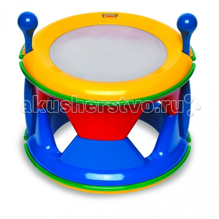 Музыкальная игрушка Tolo Toys Барабан