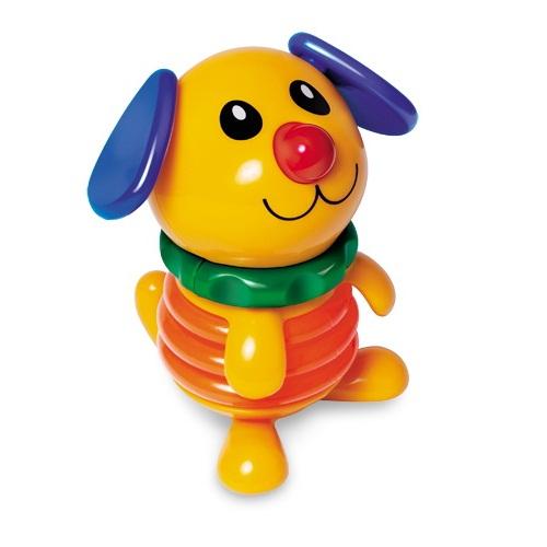 Развивающая игрушка Tolo Toys Пищалка ЩенокПищалка ЩенокВстроенная в животик пищалка.   Вращается и качается.   Удобная игрушка для ручек малыша.  Игрушки Tolo отличаются высоким качеством изготовления и повышенной прочностью.<br>