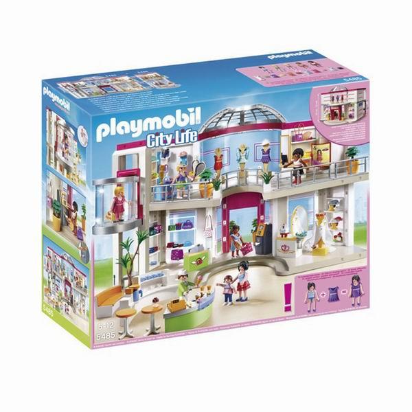 Конструктор Playmobil Мебилированный торговый центр