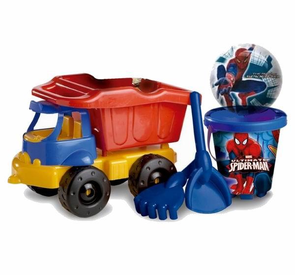 Unice Песочный набор Спайдермен 4 с грузовиком
