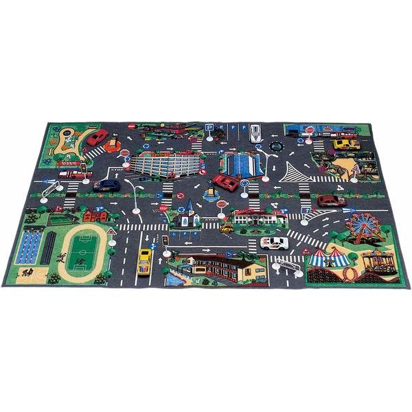 Игровой коврик G.B.Fabricantes AVC с дорожными знаками 63 х 103 см от Акушерство