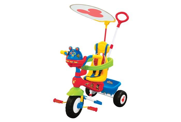 Велосипед трехколесный Kiddieland Микки Маус