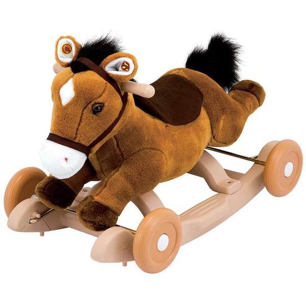 Качалки-игрушки Kiddieland Пони плюш каталка