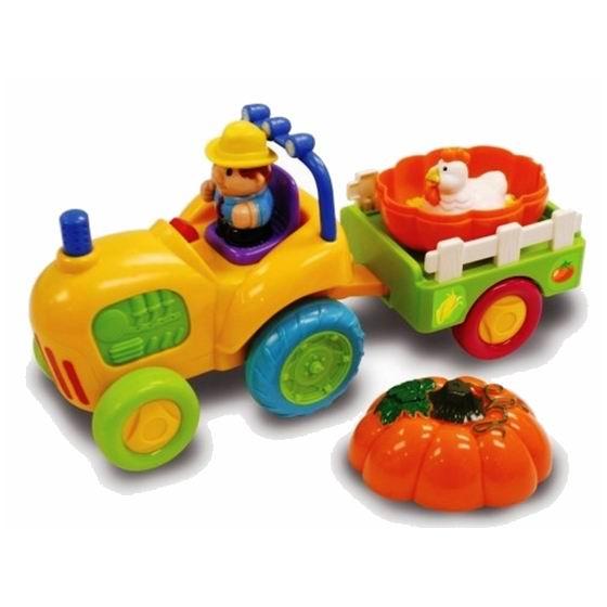 Kiddieland Трактор с тыквой