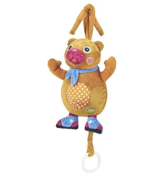 Подвесная игрушка Oops музыкальная Медвежонок