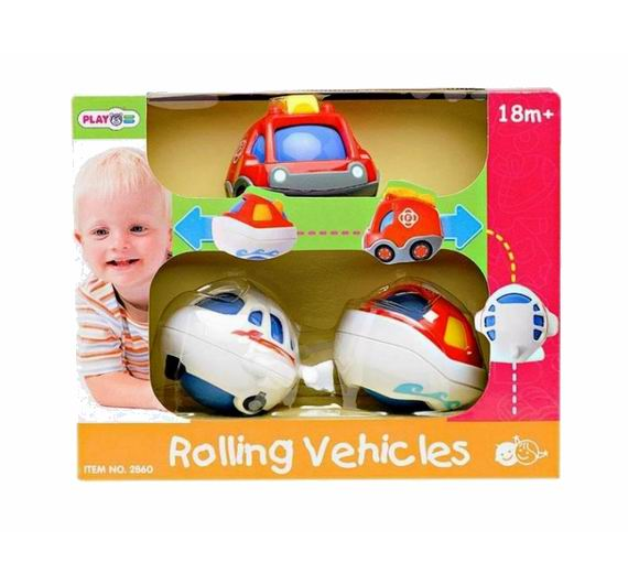 Playgo Игровой транспортИгровой транспортИгровой транспорт PlayGo Play 2860 - это яркая развивающая игрушка для малышей, которая изготовлена из высококачественных материалов и выполнена в ярких цветах.   Модель способствует формированию представления о цветах и звуках, а также развивает моторику и сенсорику детей.  Комплектация: самолет, машина, катер<br>