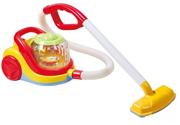 Playgo Игровой пылесос 3470Игровой пылесос 3470Игровой пылесос со звуковыми эффектами.   Маленьким деткам понравится эта игрушка - разноцветный и яркий пылесос, совсем как настоящий!   Эта забавная и милая игрушка, выполняет несколько функций: прибирает пыль в доме, мигает, «поет» и будет весело развлекать вашего ребенка длительное время.   Пылесос сможет научить малышей содержать свой дом в чистоте и порядке, практически с самого раннего возраста.   Удобный и стильный дизайн - выполнен в обтекаемой форме, атравматичен.   Удобная и приятная на ощупь ручка.<br>