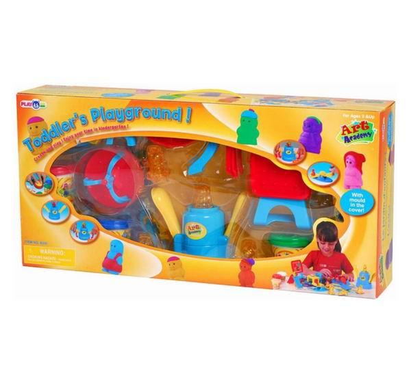 Пластилин Playgo Набор для лепки