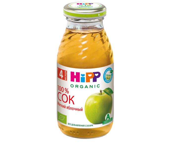 Hipp Сок Мягкий яблочный с 4 мес., 200 мл