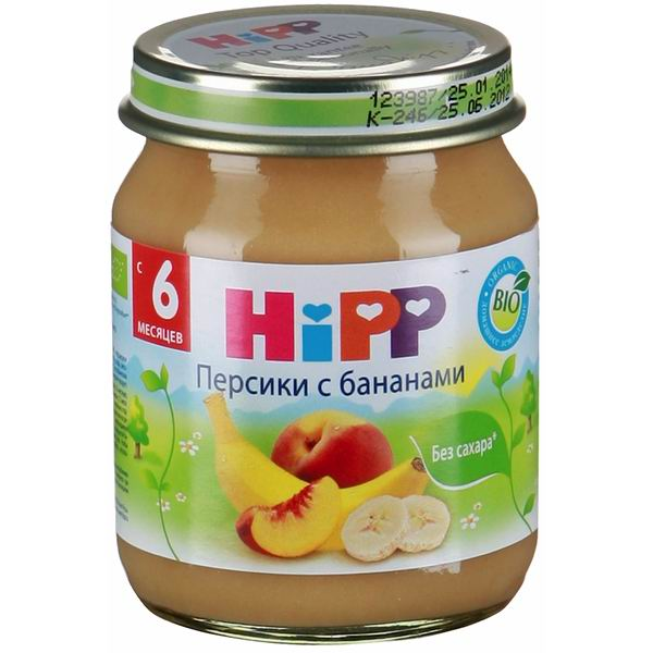 Hipp ���� ������� � �������� � 6 ���., 125 �