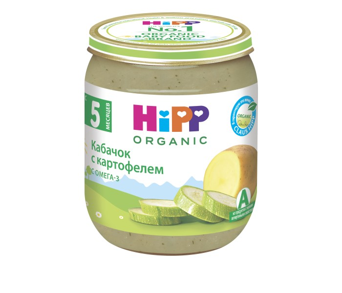 Hipp ���� ������� � ���������� � 5 ���., 125 �