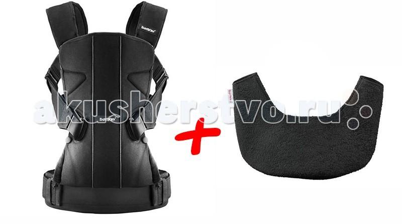 Рюкзаки-кенгуру BabyBjorn One + нагрудник для рюкзака