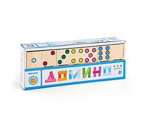 Томик Домино ТочкиДомино ТочкиНастольная игра Домино Точки Томик 5655-2 станет хорошим подарком для вашего малыша.   Она состоит из красочных деревянных доминошек с изображением разноцветных точек.   С помощью этой игры ребенок научится анализировать, сопоставлять, сравнивать, выявлять логические связи между предметами.<br>
