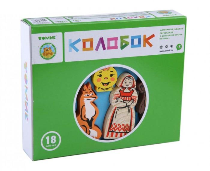 Деревянная игрушка Томик Конструктор Сказки: Колобок