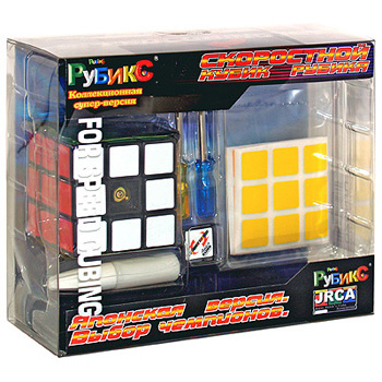 Настольная игра Скоростной кубик Рубика 3x3. Головоломка