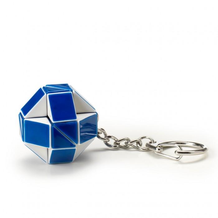 Рубикс Головоломка-брелок Змейка (24 элемента)Головоломка-брелок Змейка (24 элемента)Мини-версия Змейки Рубика - Брелок Змейка для всех любителей этой игрушки и прикольных брелков со смыслом. Все те же 24 элемента что и у Большой Змейки и те же сотни фигур, только в оранжево-синем цветовом дизайне и в компактном исполнении (в 2 раза меньше) с цепочкой и кольцом, чтобы ваша змейка никуда не уползла.  Брелок поставляется в фирменной 6-гранной картонно-блистерной упаковке с окошком для подвеса.   Змейка сделана из 24 одинаковых треугольников, соединенных между собой. Несложный механизм соединения позволяет вращать треугольники между собой таким образом, что в результате может получиться Лебедь или Летучая мышь, или Мяч, или Собака, или.. да все что угодно. Здесь нет верных и неверных ответов - все зависит от Вашей фантазии!<br>