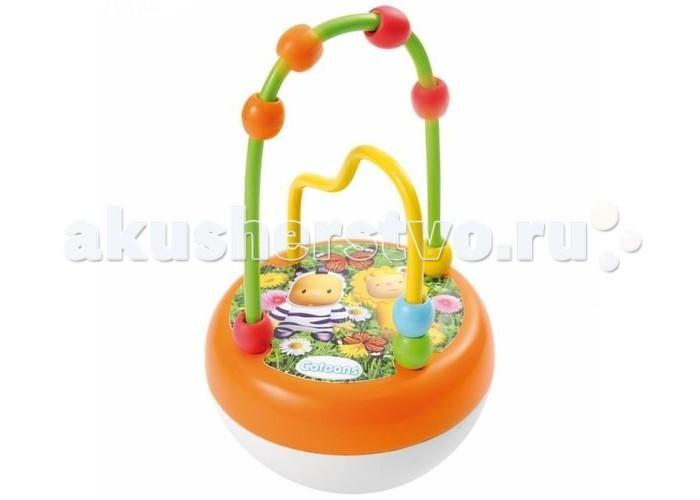 Развивающая игрушка Smoby Cotoons НеваляшкаCotoons НеваляшкаНеваляшка развивающая Cotoons с мелодичным перезвоном отлично подойдет для детей от 6 месяцев и старше.  Малыш с удовольствием будет рассматривать неваляшку, качать, толкать, и наблюдать за ее движениями, также ему понравятся маленькие разноцветные бусины, которые можно передвигать по дугам.  Игрушка поможет в развитии мелкой моторики, тактильного восприятия, слуха, ловкости и координации движений ребенка. А передвижение бусин по дугам поможет освоить понятия верх-низ, лево-право.  Размер игрушки: 10х10х16 см.<br>