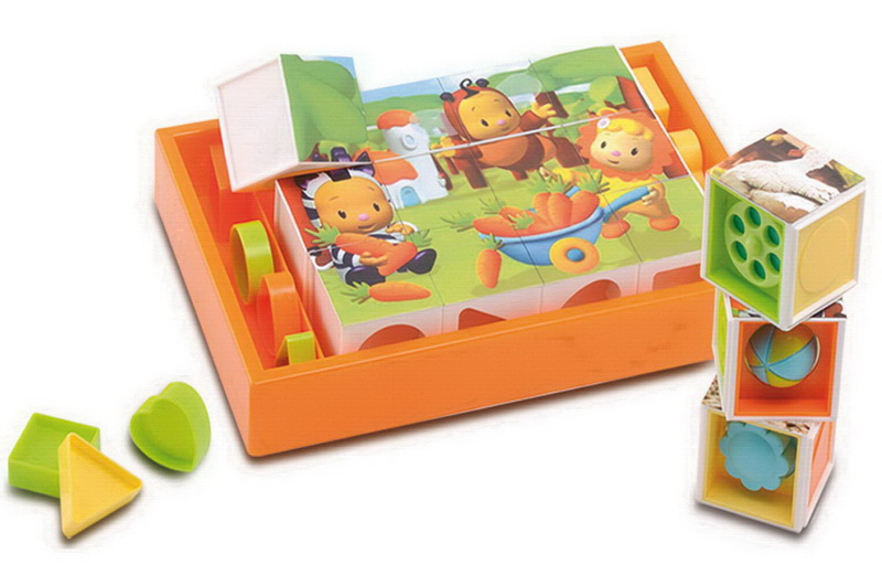 Развивающие игрушки Smoby Cotoons Кубики