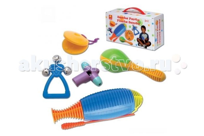 Музыкальная игрушка Halilit Набор инструментов Самба