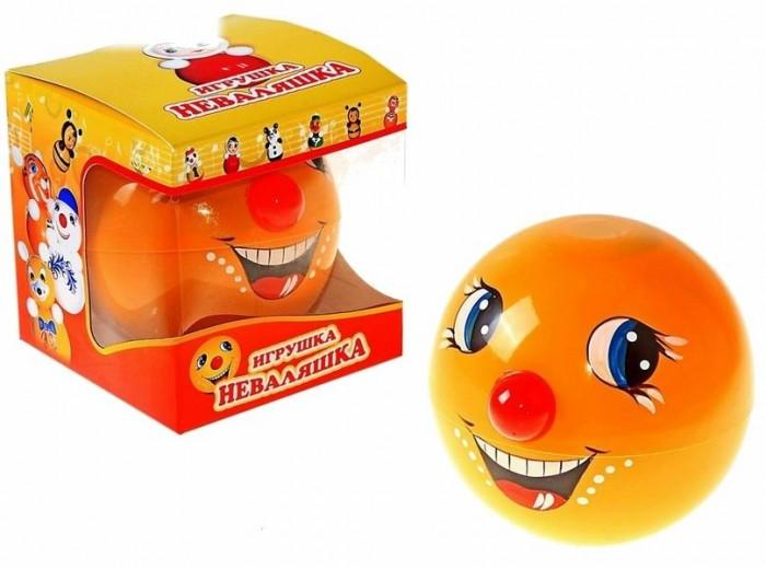 Развивающая игрушка Russia Неваляшка 12 смНеваляшка 12 смИгрушка неваляшка - одна из самых любимых игрушек малышей. Она совмещает в себе погремушку и устройство, благодаря которому неваляшка никогда не упадет.   Яркие цвета и удобная форма игрушки не оставят малыша равнодушным. Кроме того, неваляшка абсолютно безопасна даже для маленьких детей.   При раскачивании издает звук. Неваляшка - игрушка для развития у ребенка цветового, звукового и тактильного восприятия.  Она изготовлена из высококачественного российского пластика по строгим гигиеническим и санитарным нормам.   Высота неваляшки 12 см.   Неваляшка продается в цветной картонной подарочной упаковке.<br>