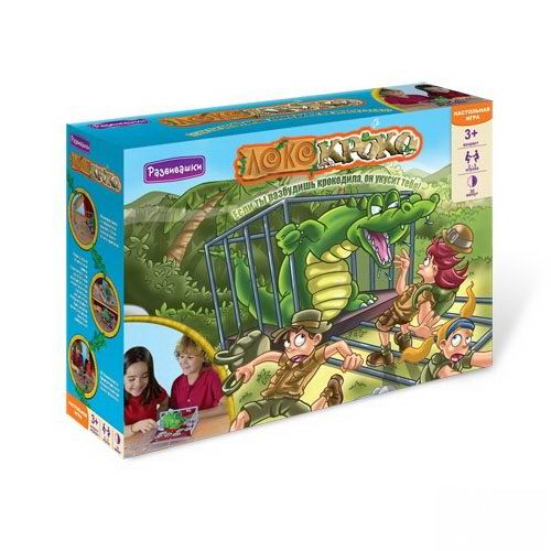 Настольная игра Локо-кроко
