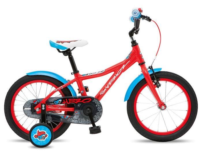 Двухколесные велосипеды Superior Hero 16 Alu