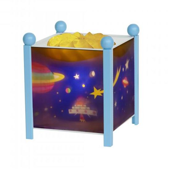 Trousselier Светильник-ночник в форме куба Космос Светильник-ночник в форме куба Космос 4353C 12V