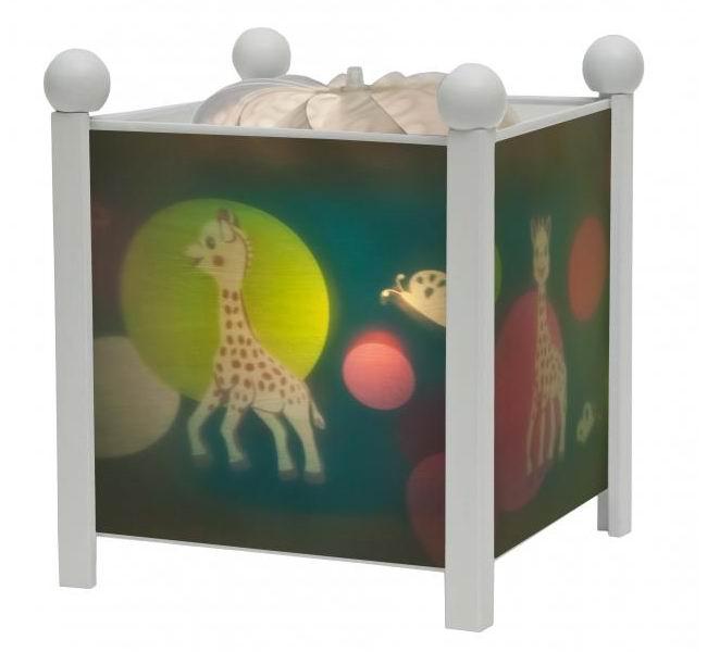 Trousselier Светильник-ночник в форме куба Sophie the giraffe