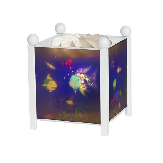 Trousselier Светильник-ночник в форме куба Rainbow Fish Светильник-ночник в форме куба Rainbow Fish 4366W 12V