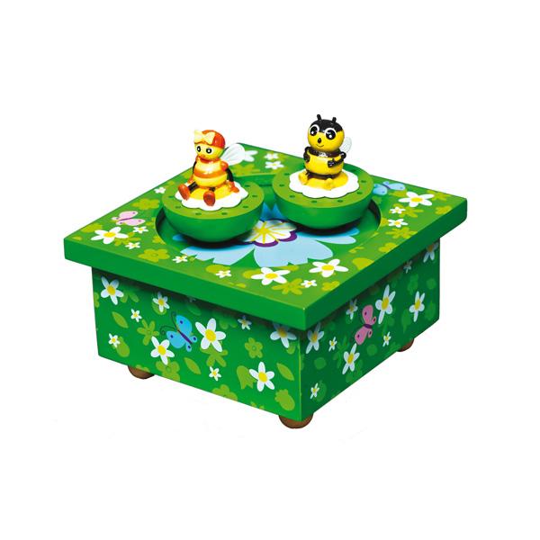 Шкатулки Trousselier Музыкальная шкатулка Wooden Box Насекомые Droles de Petites Betes