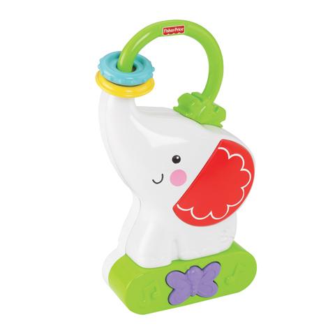 Fisher Price Mattel Ночник СлоненокMattel Ночник СлоненокНочник в форме очаровательного слоника поможет успокоить ребенка в кроватке или на ходу. Слона можно положить или даже повесить на ручку двери. У Слоника есть функция ночника, а также можно выбрать приятную мелодию.  Успокаивающие звуки и мелодии помогают развивать слуховые навыки малыша, а мягко светящиеся цвета  развивают зрительные навыки. С забавным слоником у вашего малыша всегда будет чувство защищенности и радости - он всегда развлечет его, составляя ему компанию и обеспечивая чувство комфорта; звуки и мелодии помогают малышу успокоиться и заснуть.  Особенности: До 30 минут различных звуков, огоньков и музыки! Можно выбрать один из 6 светящихся цветов Удобная ручка для переноса - повесьте игрушку на дверь или возьмите ее с собой в дорогу! 3 режима: -    Только музыка -    Музыка и огоньки -    Только огоньки В комплект входят 3 демонстрационные батарейки категории АА (R6).<br>