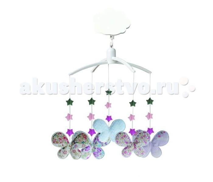 Мобиль Trousselier Butterflies с мягкими игрушками