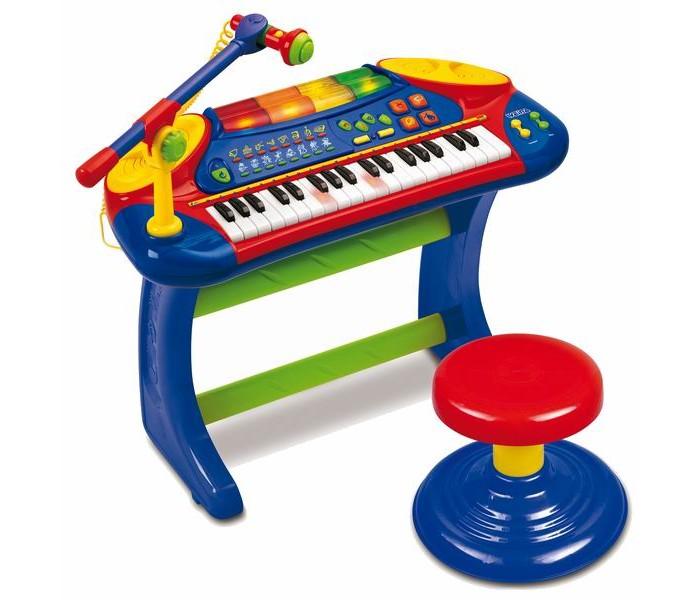 Музыкальная игрушка, Weina, Пианино со стульчиком