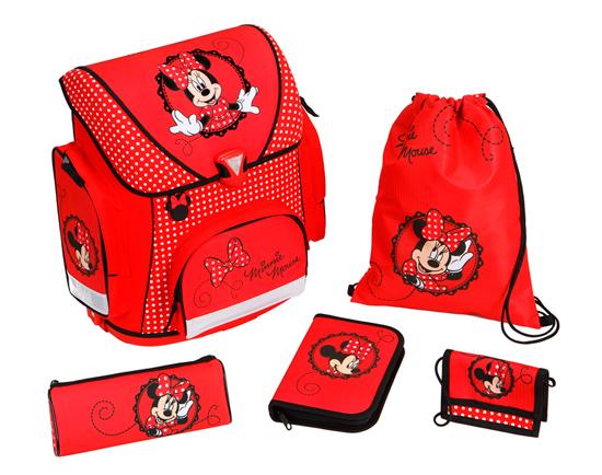 Портфели Undercover Портфель с наполнением Minnie Mouse (5 предметов)