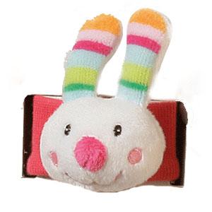 Мягкие игрушки Gulliver на запястье Заяц